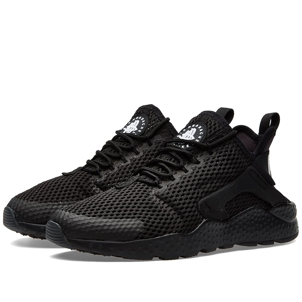 nike w air huarache run ultra br black. Black Bedroom Furniture Sets. Home Design Ideas