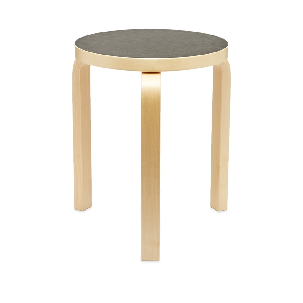 Excellent Artek Alvar Aalto 1933 Stool 60 Creativecarmelina Interior Chair Design Creativecarmelinacom