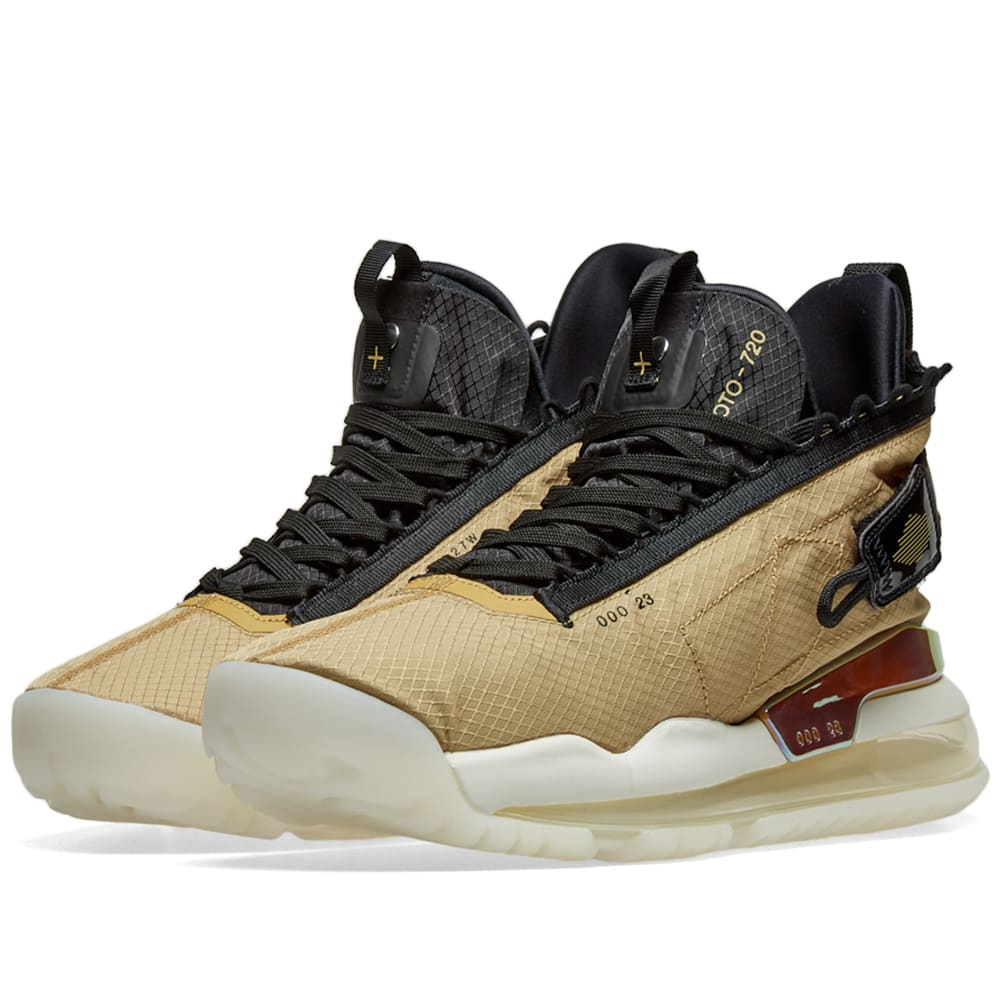 best website 21232 8e5bf Jordan Proto-Max 720 Club Gold, Black   White   END.