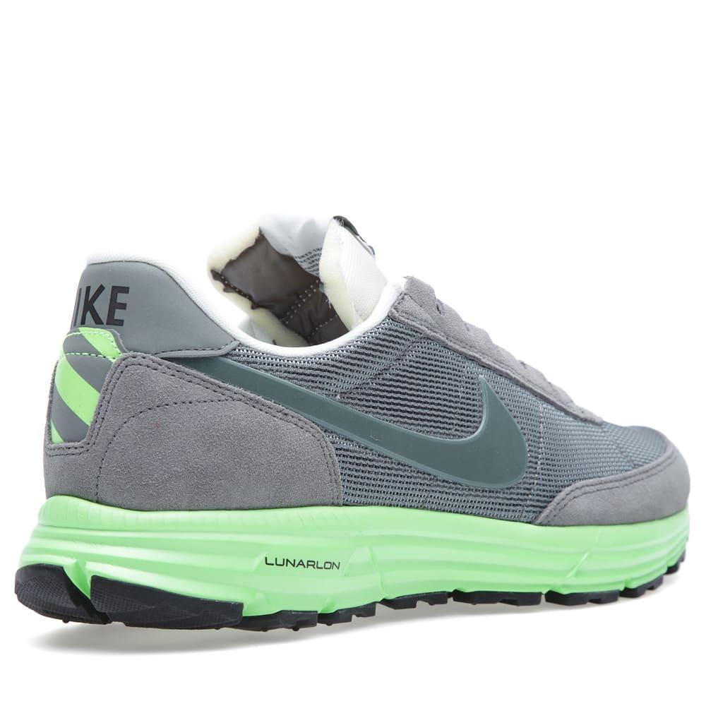 huge discount 0c09a b0881 Nike Lunar LDV Low Mercury Grey   Neon Green   END.
