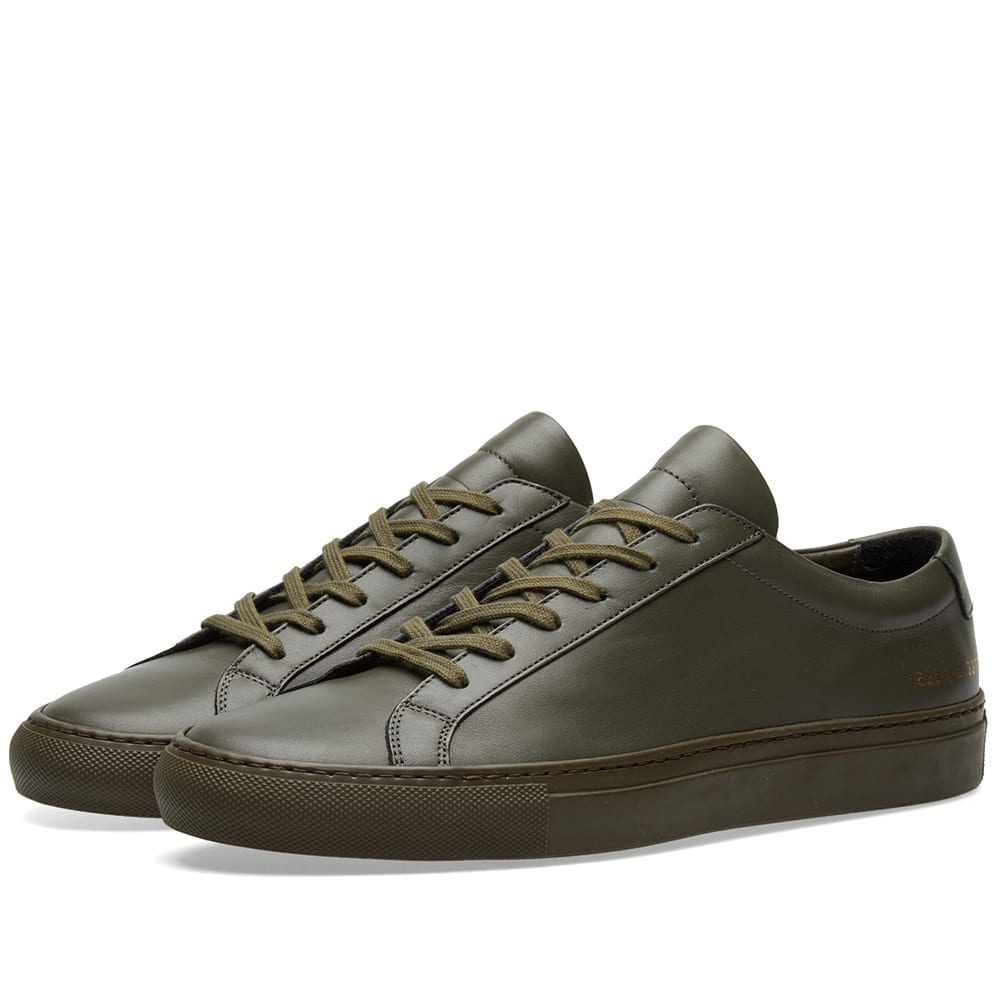 206a5094516b Common Projects Original Achilles Low Army Green