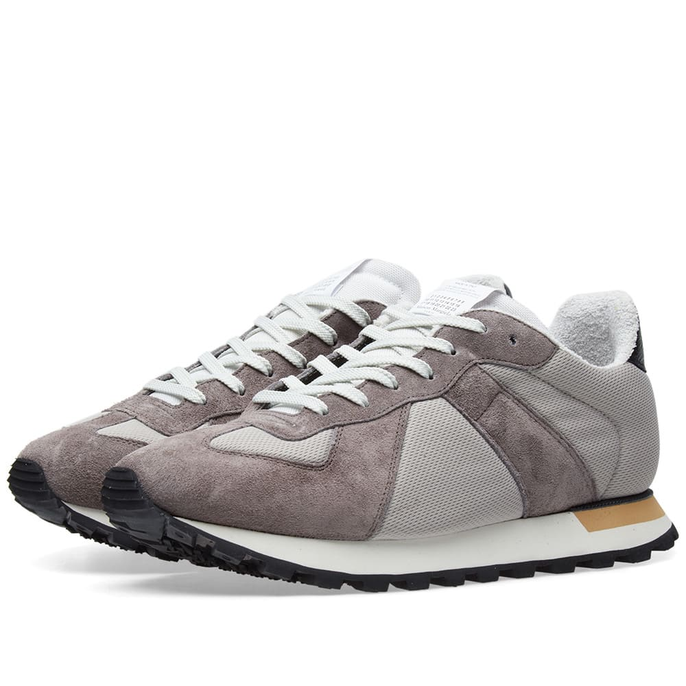 Replica Runner Mesh and Suede Sneakers