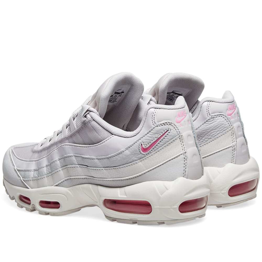 wholesale dealer 6a7b4 d53f7 Nike Air Max 95 SE W Grey, Psychic Pink   White   END.