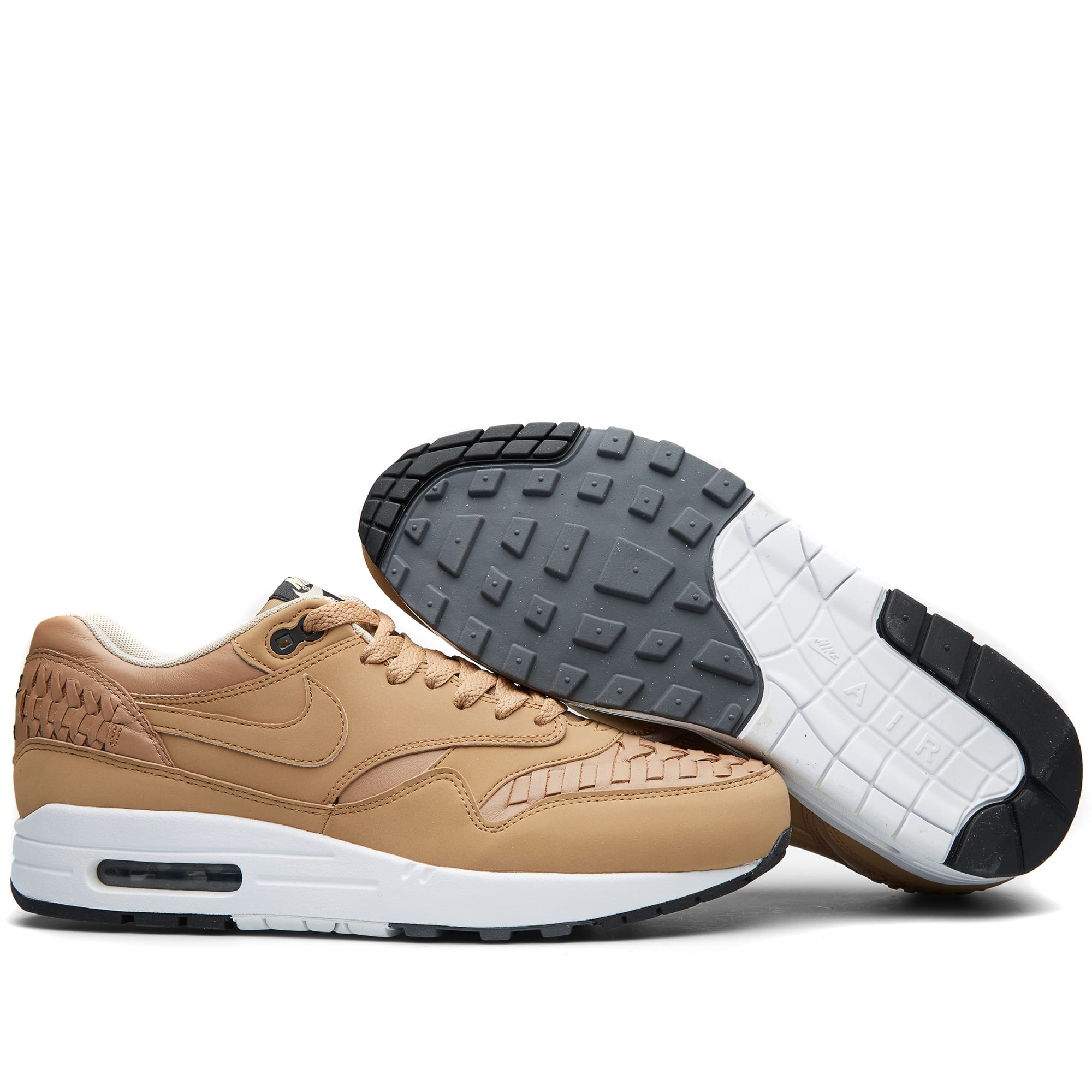 promo code 5ab17 15063 Nike Air Max 1 Woven Pale Shale   Black   END.