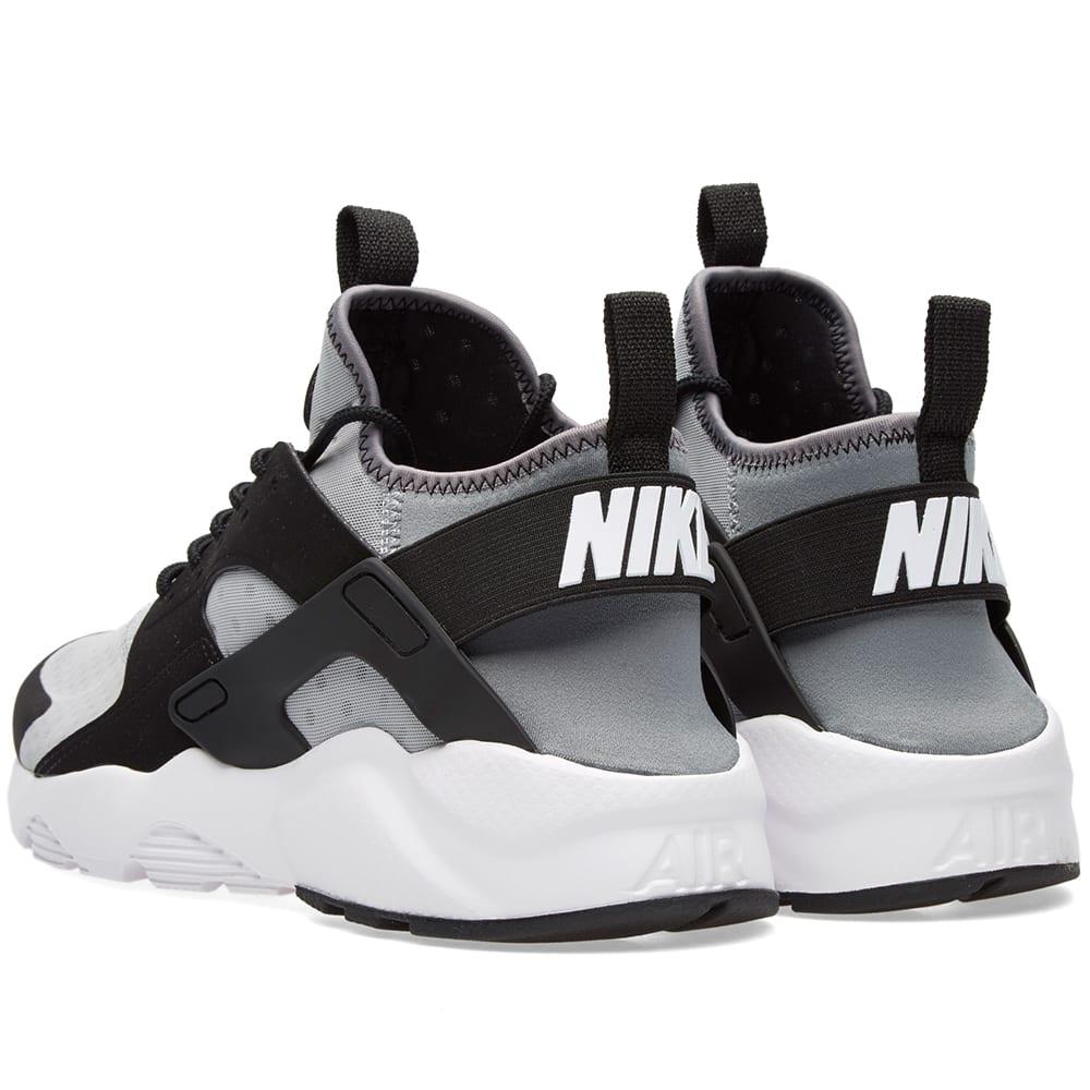 new style 01417 74828 Nike Air Huarache Run Ultra Wolf Grey, White   Black   END.