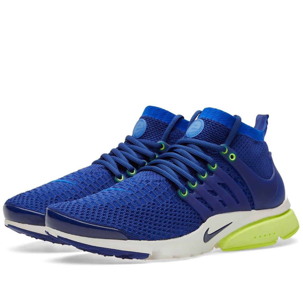 new product cc419 8dfa3 Nike W Air Presto Ultra Flyknit Deep Royal, Racer Blue   Volt   END.
