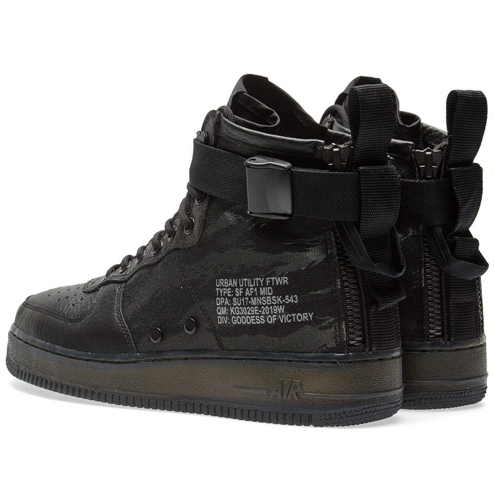 hot sales 54e48 b0cf6 Nike SF Air Force 1 Mid QS