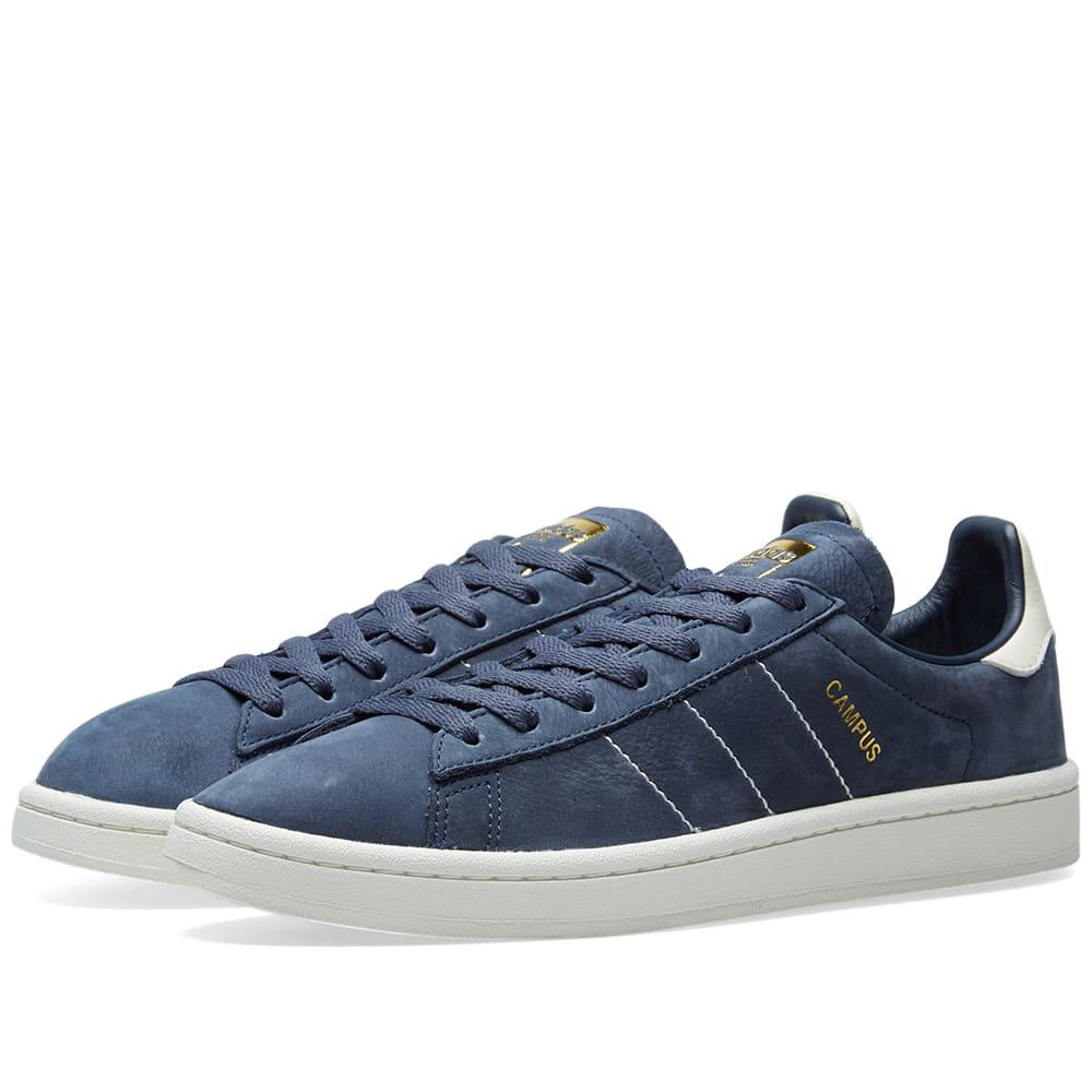 Adidas Campus Blue, White \u0026 Gold | END.