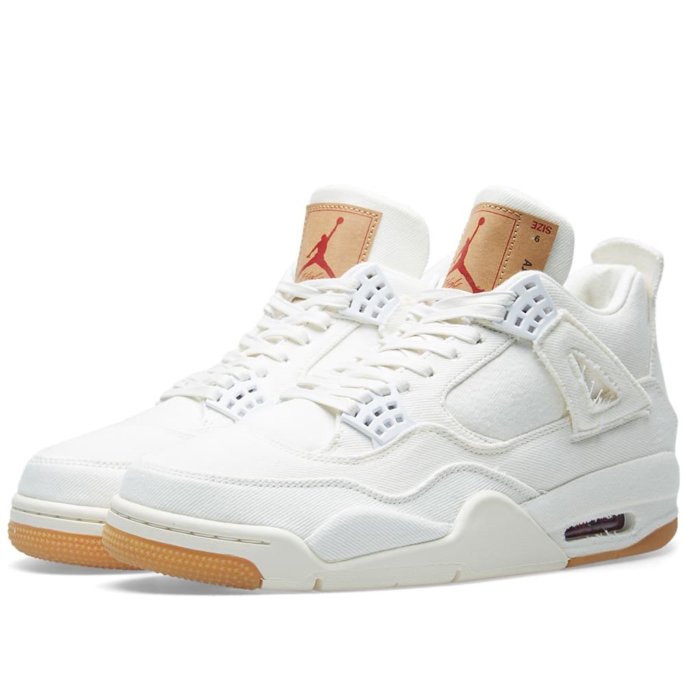 size 40 f288d 88a0f Levi's x Air Jordan 4 Retro NRG