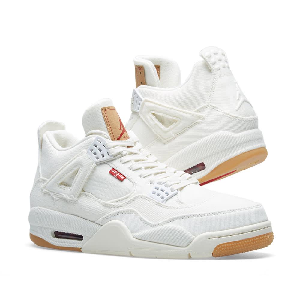 size 40 fcce0 eee3b Levi's x Air Jordan 4 Retro NRG