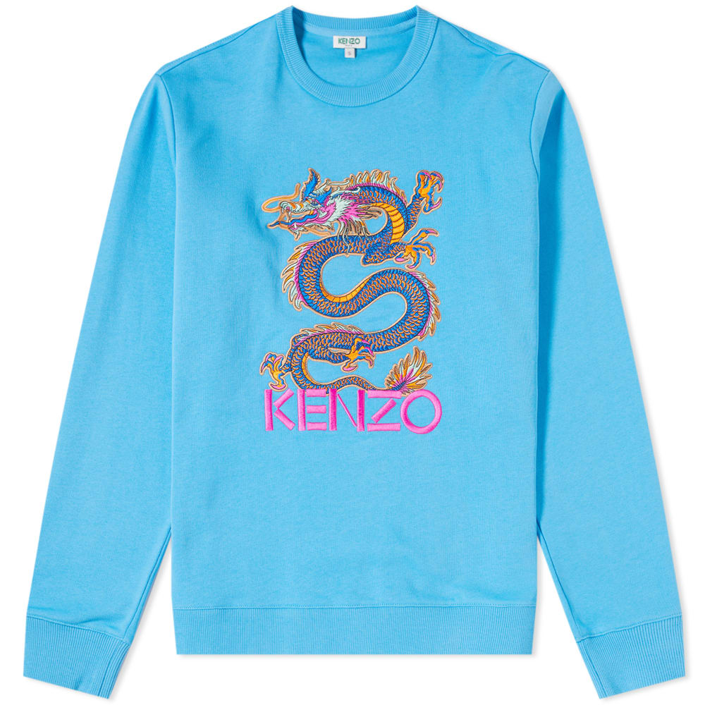 Kenzo Dragon Embroidered Crew Sweat by Kenzo's
