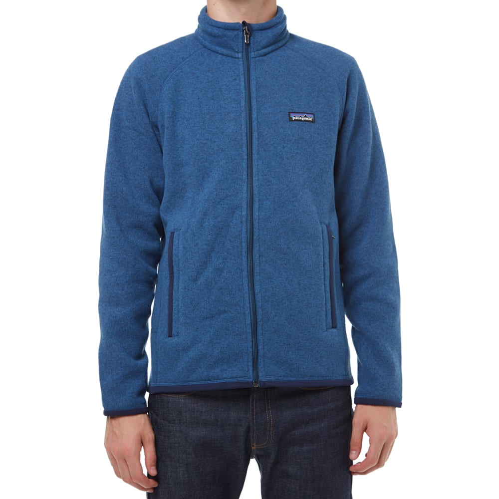 Patagonia Better Sweater Jacket (Glass Blue & Classic Navy)