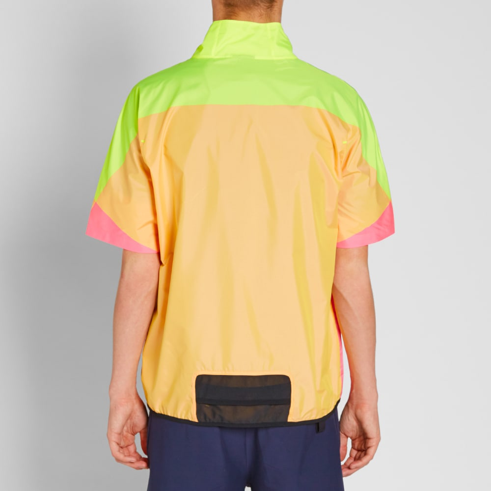 e1fb542e51 NikeLab x Kim Jones Short Sleeve Windrunner Hyper Pink & Clear | END.