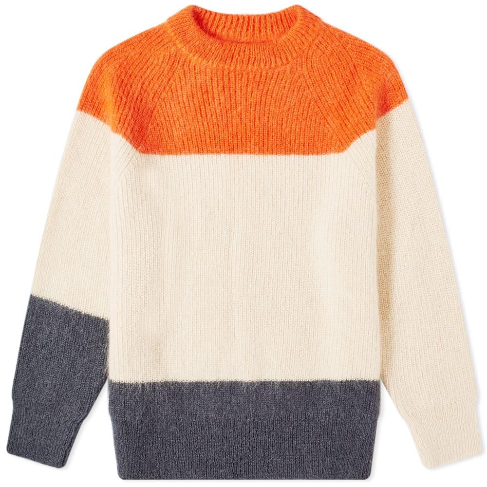 Jil Sander Panel Stripe Knit