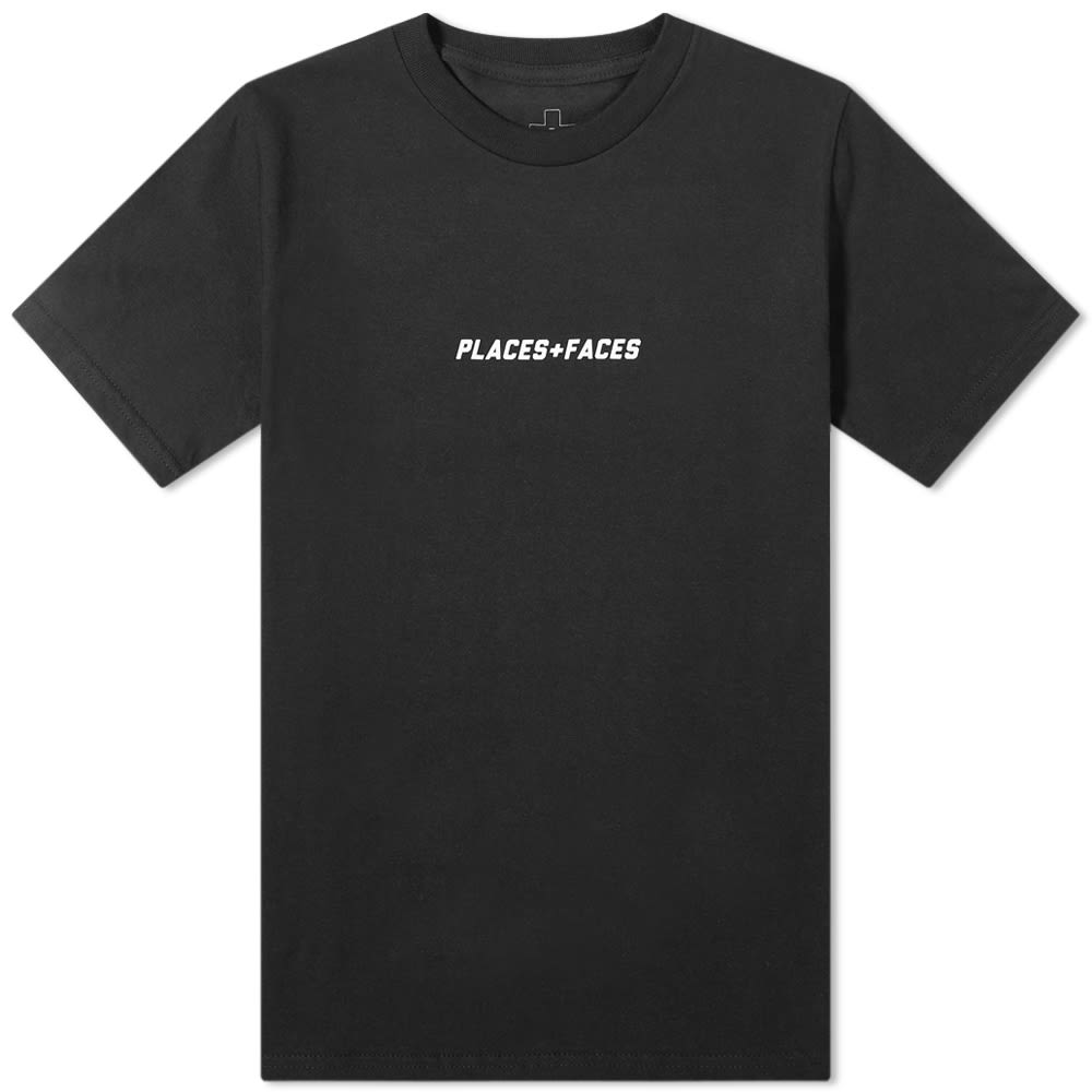 Places+faces Logo Tee In Black
