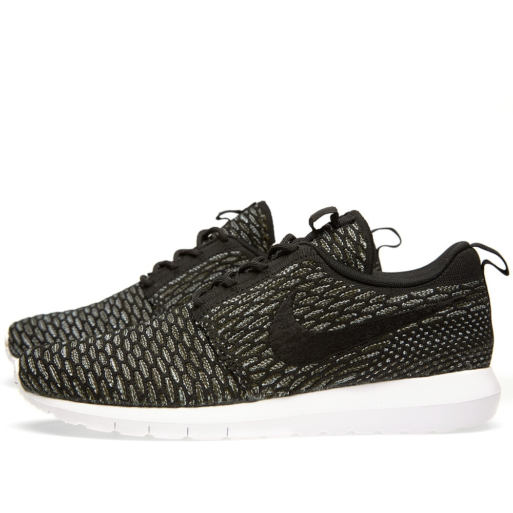 check out ce13d 83993 Nike Flyknit Rosherun NM Black   Sequoia   END.