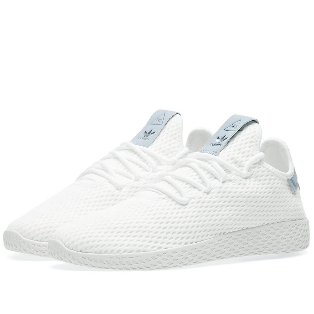 9ee5f3eb9 Adidas x Pharrell Williams Tennis HU White   Tactile Blue