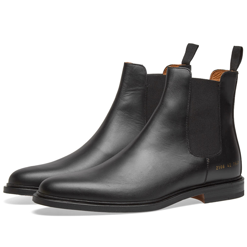 Common Projects Chelsea Boot Black