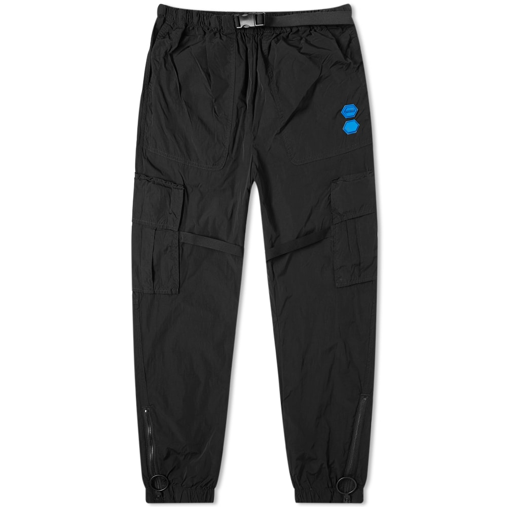 Off-white Off Parachute Cargo Pant In Black