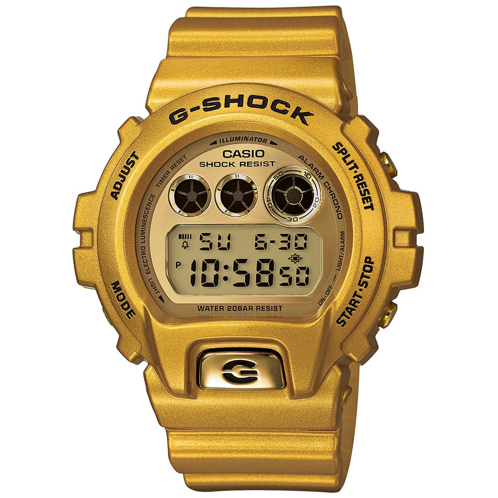 Casio G-Shock DW-6900GD-9 'Crazy Gold' Watch (Gold)