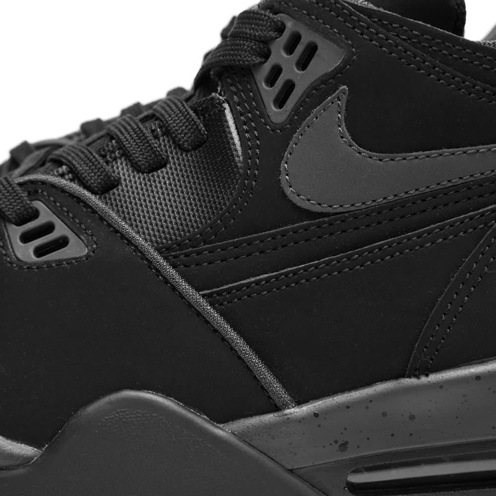 best sneakers 027f4 7ca1c Nike Air Flight 89  Triple Black  Black   END.