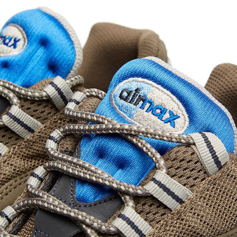 reputable site b0a62 c1d07 Nike Air Max 95 Dark Dune   Hyper Cobalt   END.