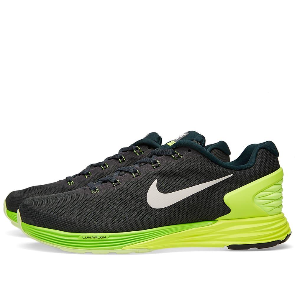 fa905b21fff8c Nike Lunarglide 6 Seaweed   White