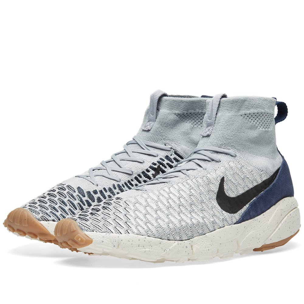 low priced 833c6 ca3f6 Nike Air Footscape Magista Flyknit Light Grey   END.