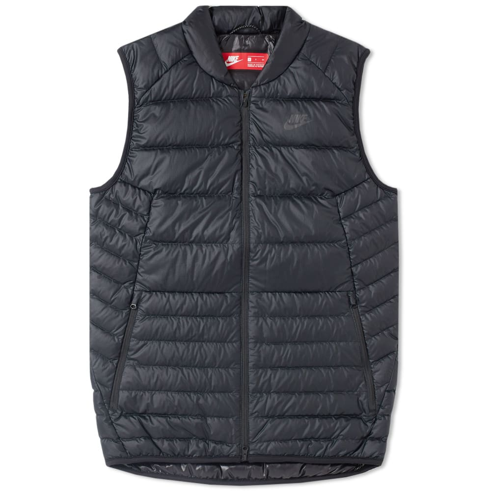 4f42e892c Nike Guild Hooded Down Vest Black & Anthracite | END.