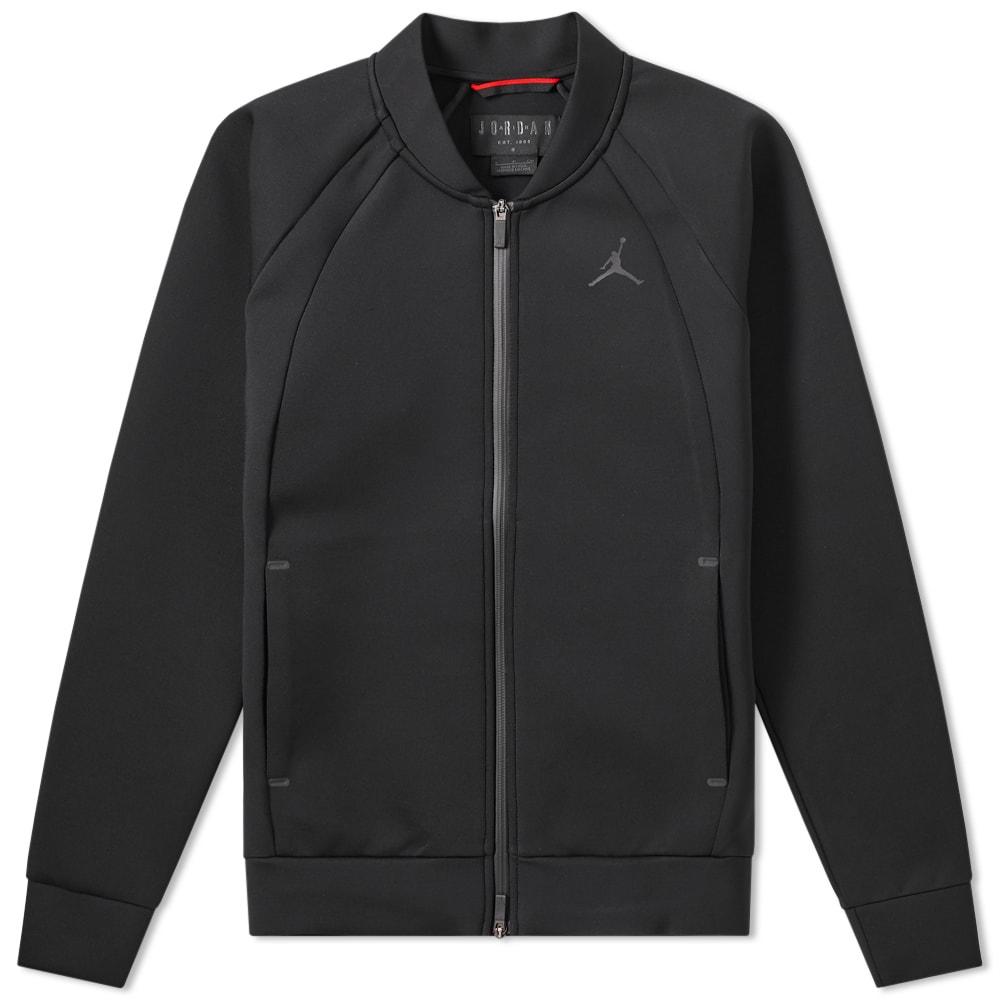 3b5e287cbdb524 Jordan Flight Tech Jacket Black