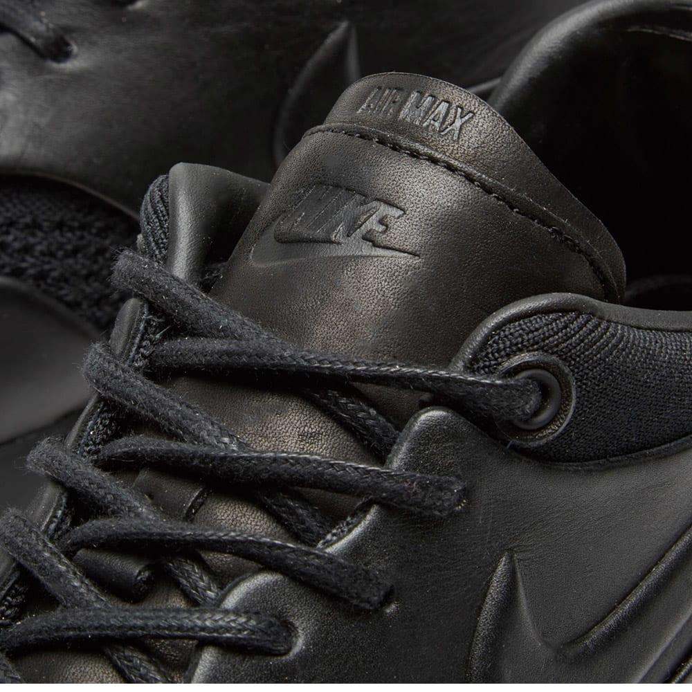 9fcde427f0b0 NikeLab x Arthur Huang Air Max 1 Flyknit Royal Black   Anthracite