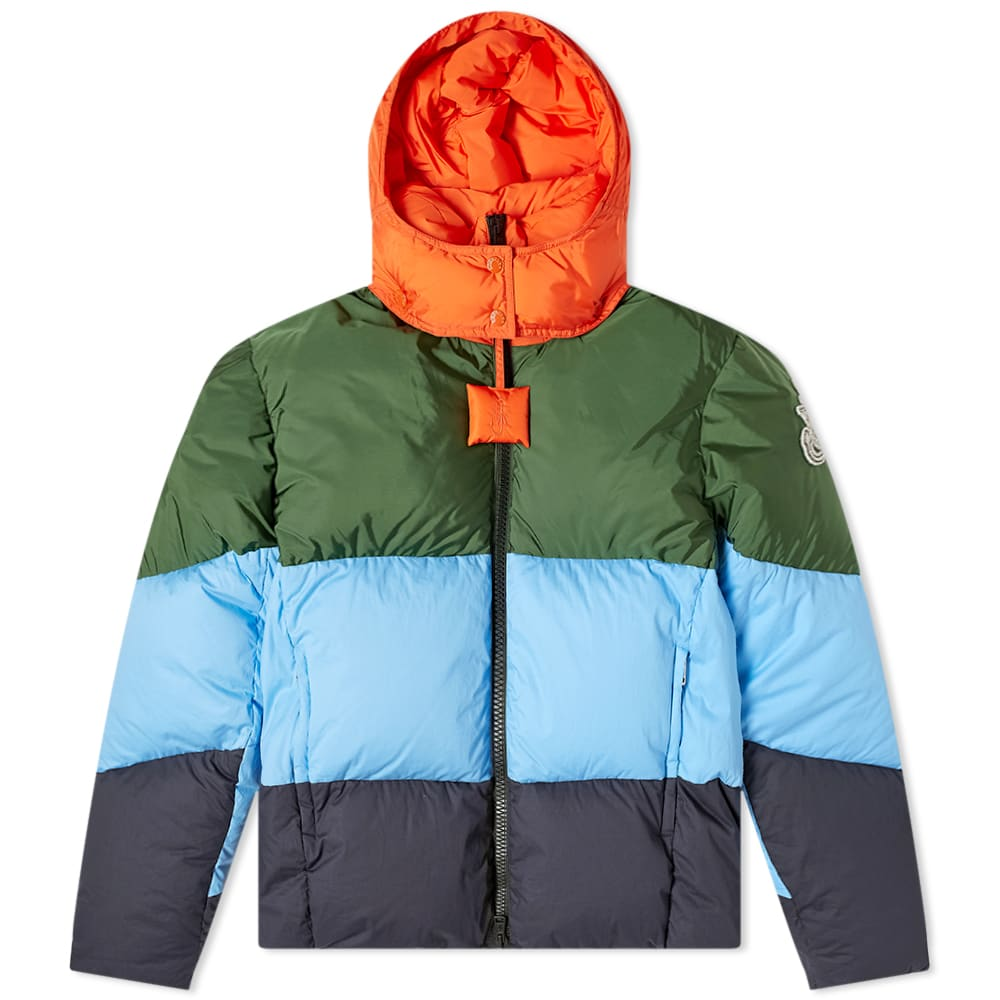 Moncler Genius Moncler Genius - 1 JW Anderson Colour Block Down Jacket