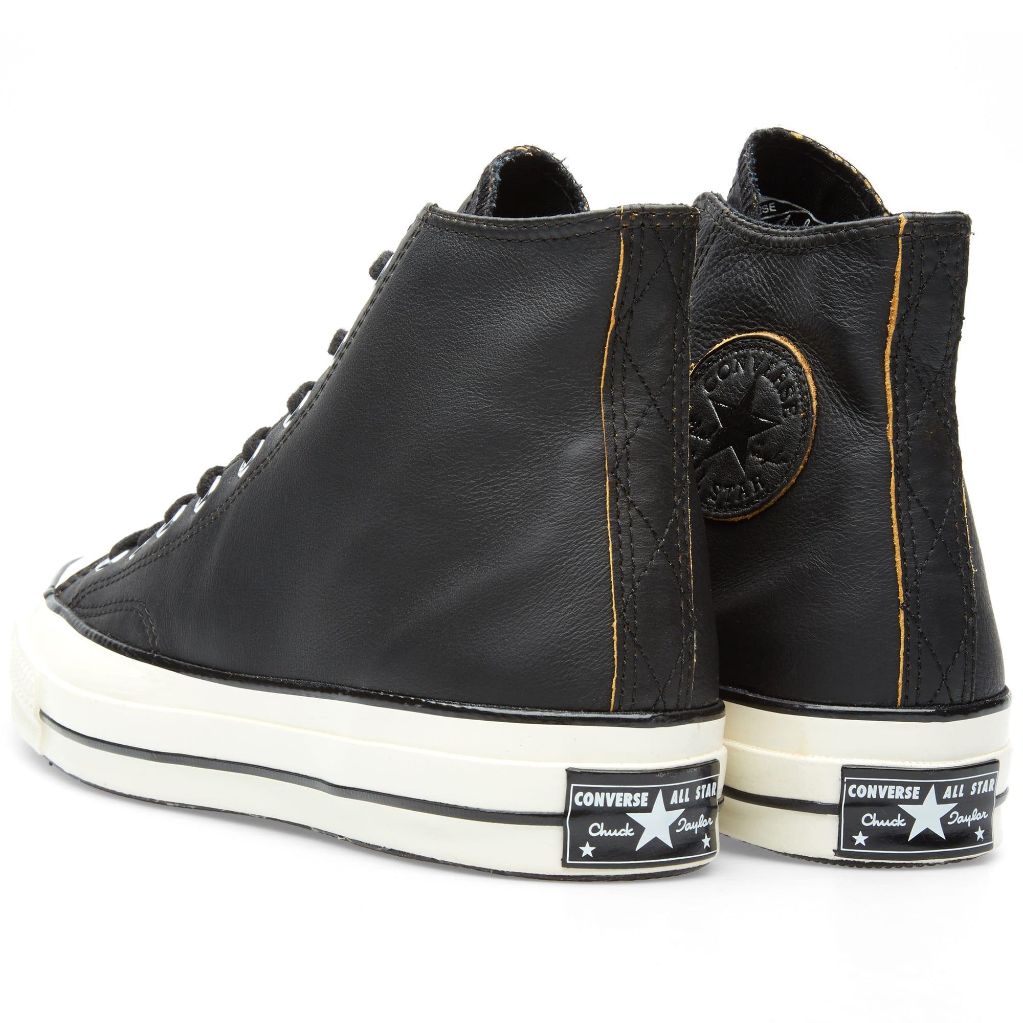 Leather Converse 79