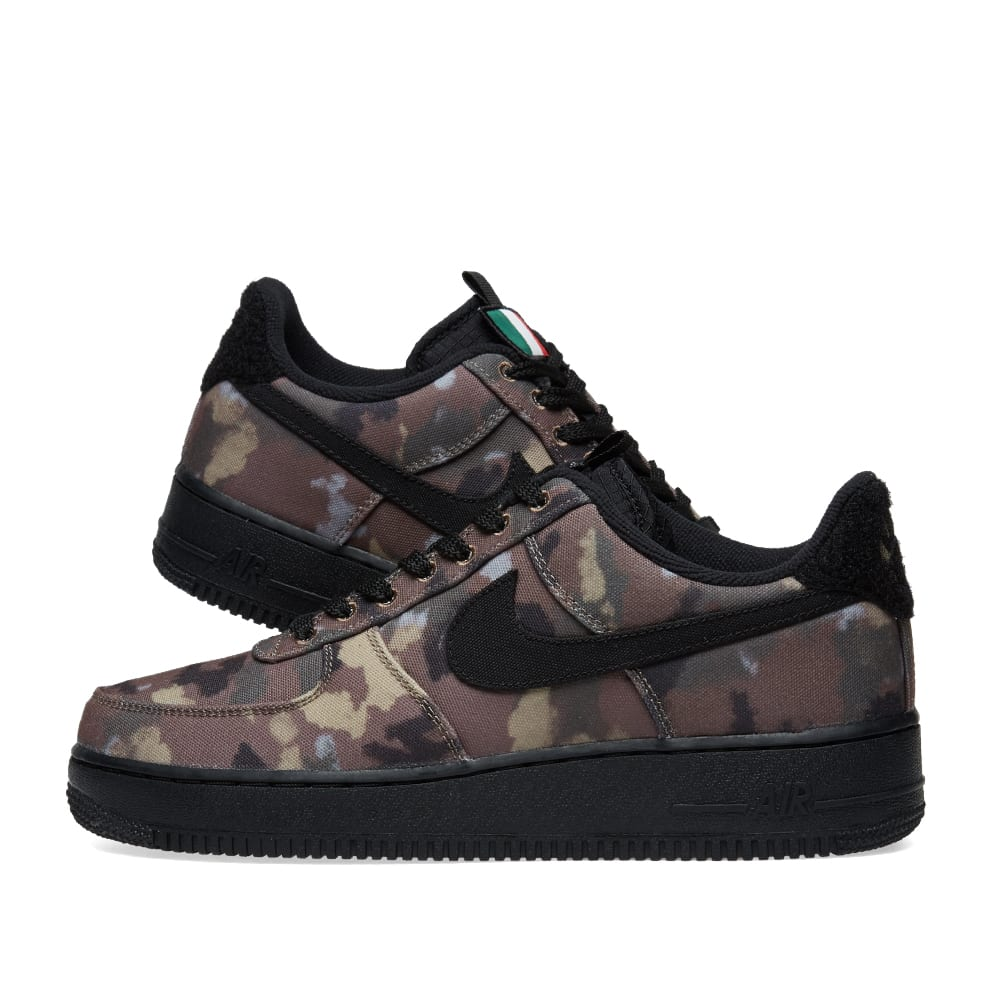 info for b4284 c5487 Nike Air Force 1 '07 WE 'Camo Pack' Italy Ale Brown, Black & Khaki ...