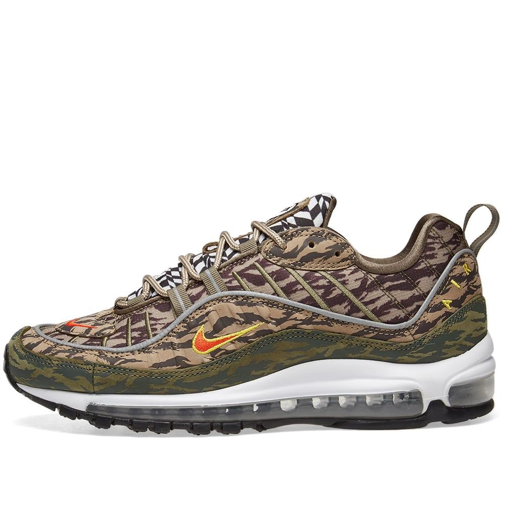 0025c0a7094 Nike Air Max 98  Camo  Khaki
