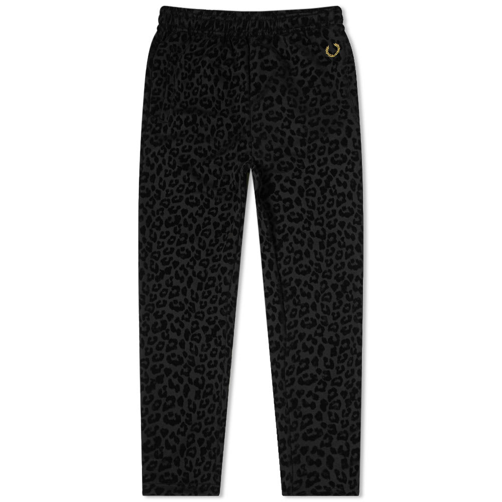 Fred Perry Pants Fred Perry x Miles Kane Leopard Print Track Pant