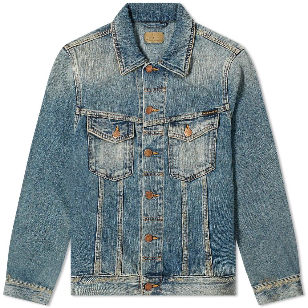 Nudie Billy Shimmering Indigo Denim Jacket by Nudie Jeans Co