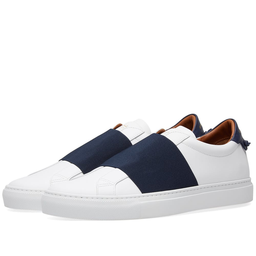 4d2655fba87a0 Givenchy Elastic Low Sneaker White & Navy | END.