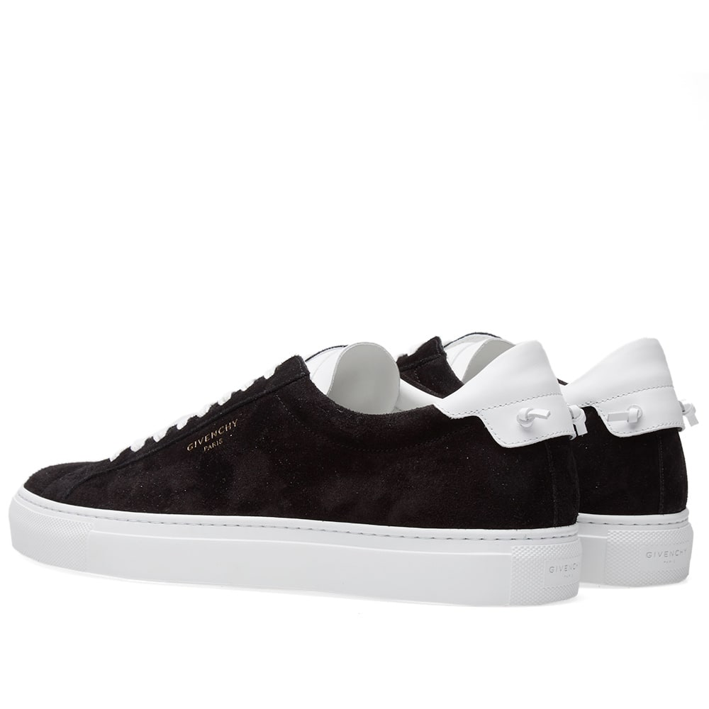 Givenchy Street Low Suede Sneaker Black