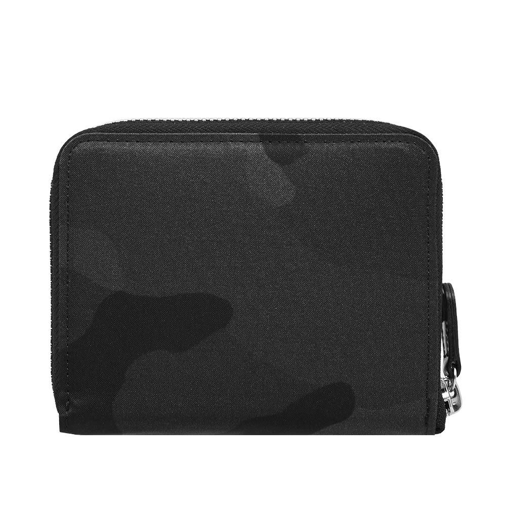 PORTER-YOSHIDA & CO Porter-Yoshida & Co. Camo Zip Wallet in Black