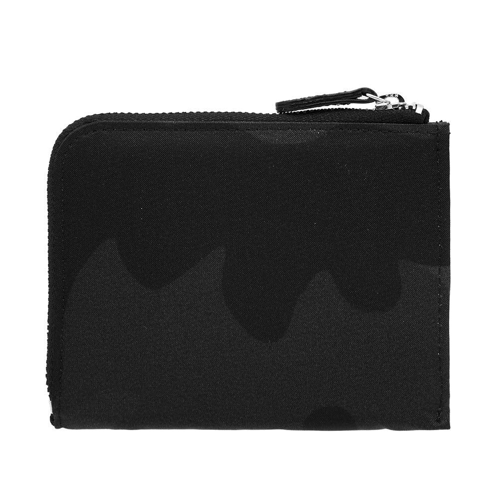 PORTER-YOSHIDA & CO Porter-Yoshida & Co. Camo Multi Wallet in Black