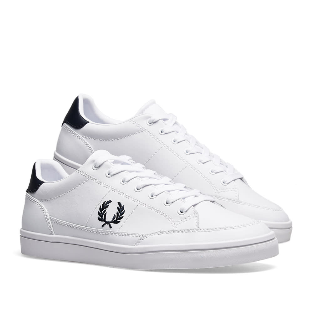3ec692dfb3f66 Fred Perry Deuce Leather Sneaker