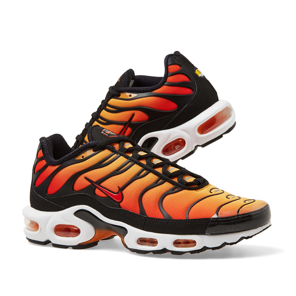 Nike Air Max Plus OG Black, Pimento & Ceramic Resin | END.