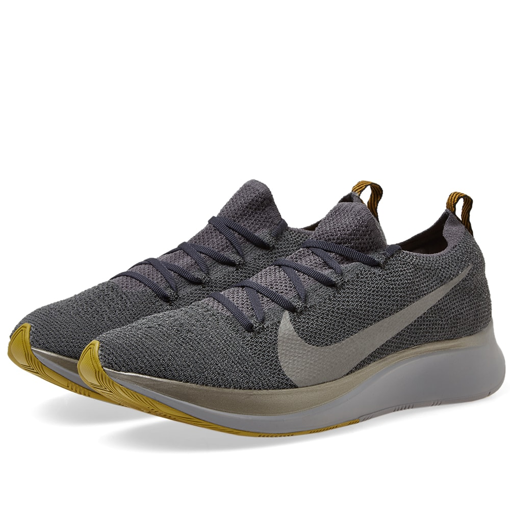 newest bb636 4bc40 Nike Zoom Fly Flyknit Grey, Pewter   Black   END.