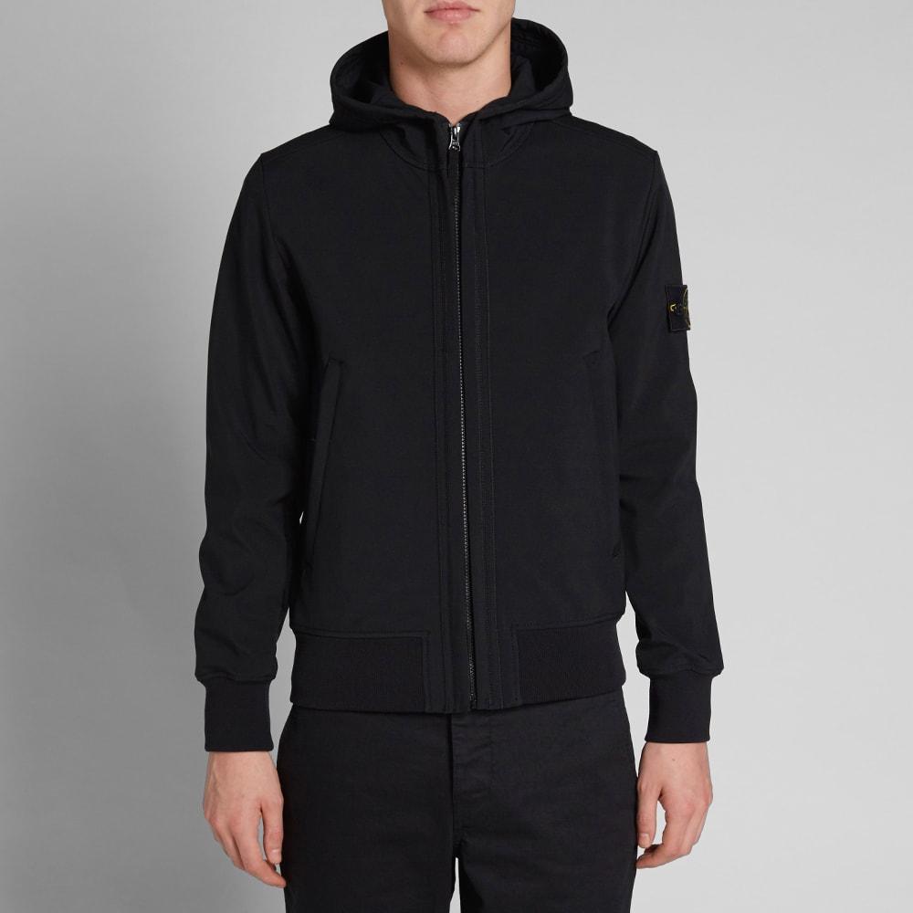 aea63b841 Stone Island Light Soft Shell-R Hooded Jacket