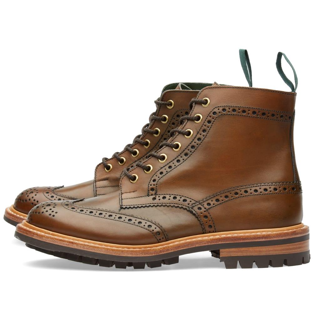 05ea3ac15dc3e Tricker's Commando Sole Stow Boot Coffee   END.