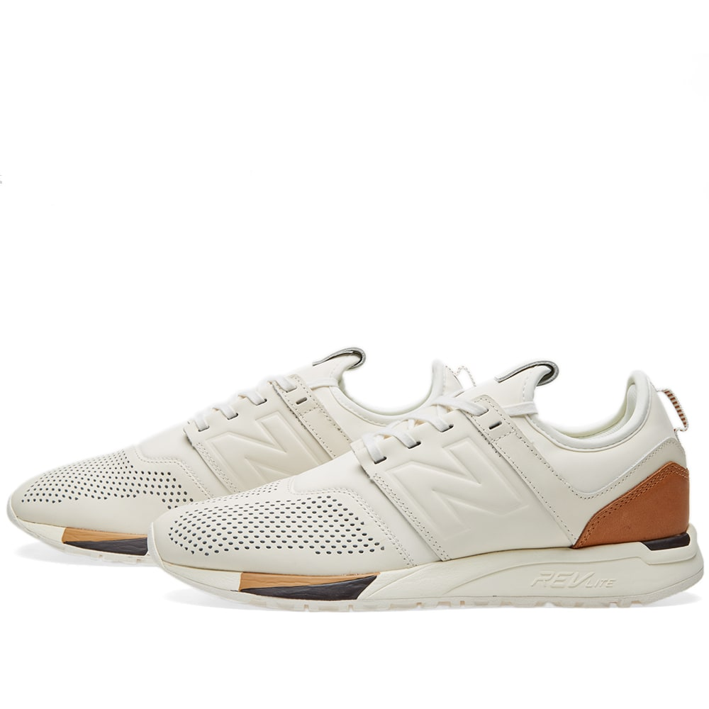 New Balance MRL247BE 'Luxe' White | END.