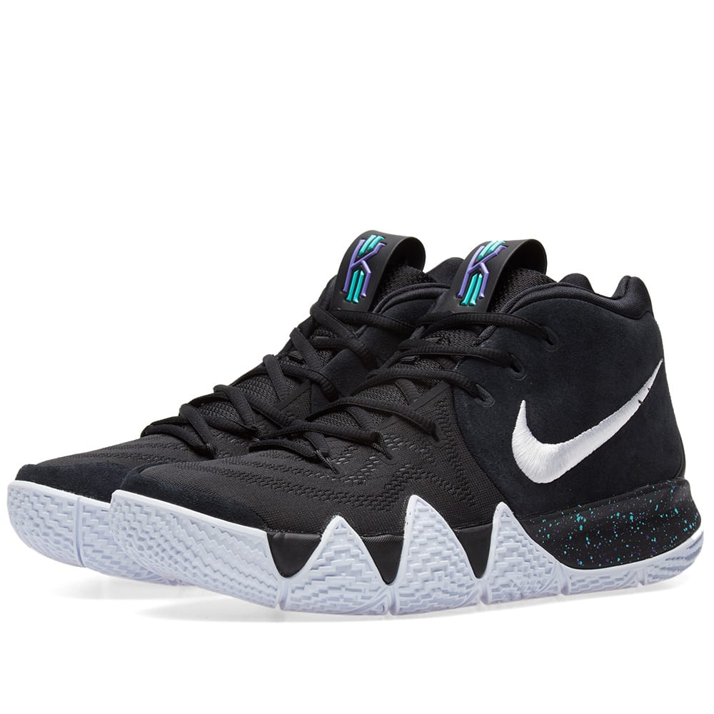 f4e2cf98b9d4 Nike Kyrie 4 Black   White