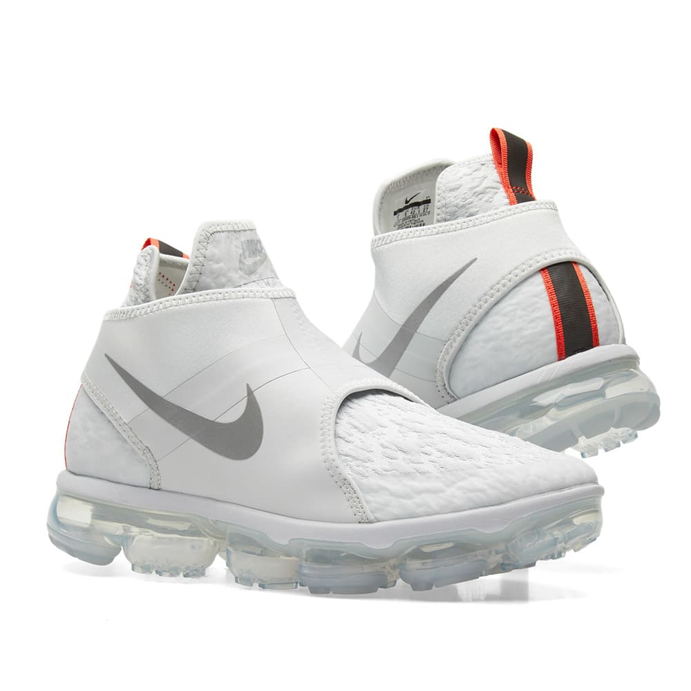 the latest 8a813 9ceec Nike VaporMax Chukka Slip Pure Platinum, Silver & White | END.