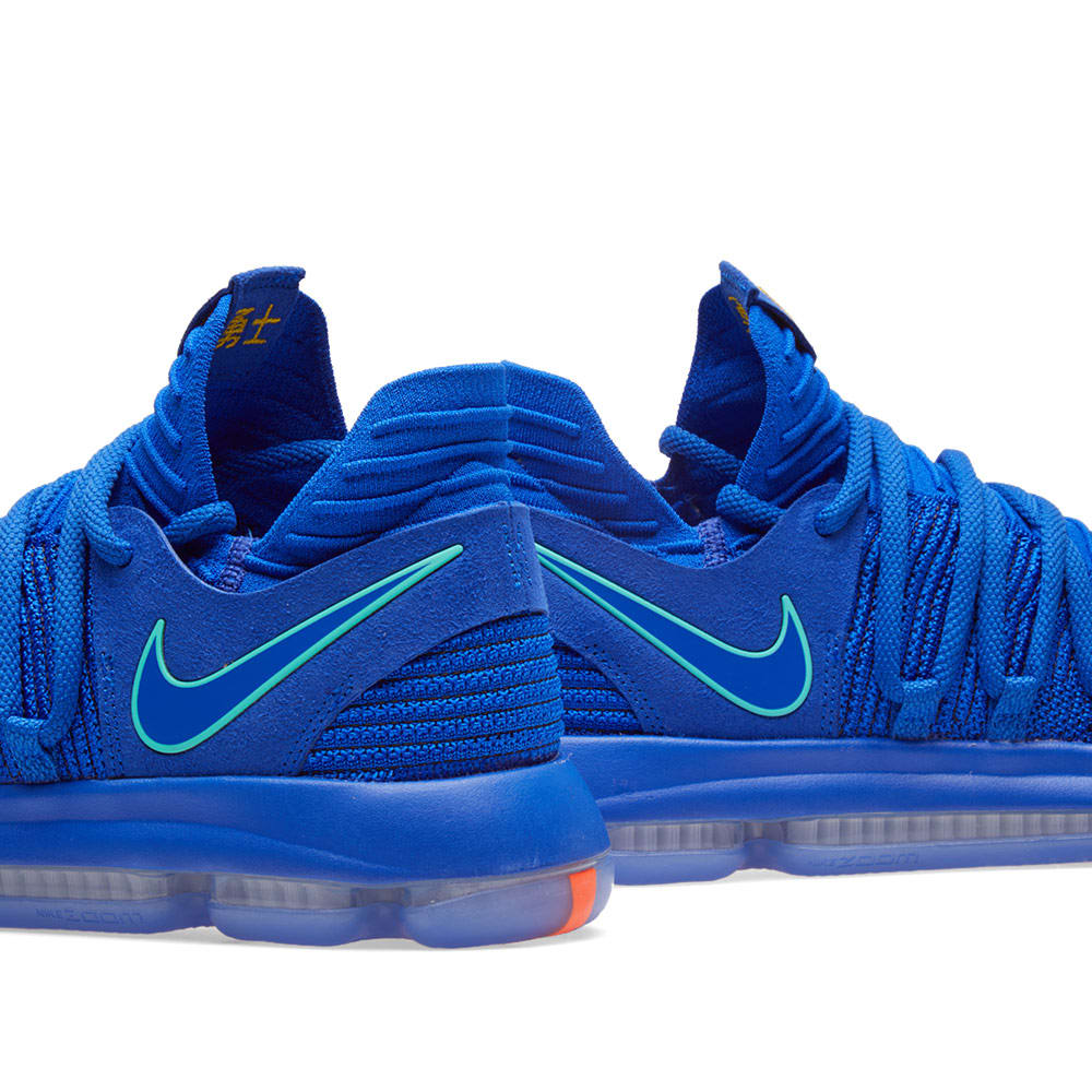 new style 2ae70 e298b Nike Zoom KD10 Blue, Light Menta   Black   END.